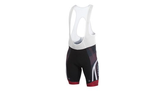 CRAFT Performance Bike Tour Bib Noir Rouge
